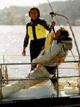 nova lift sail power boat
