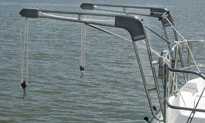 nova dinghy davit lift