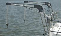 nova dinghy davit lift