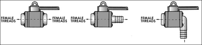 ball valve threaded