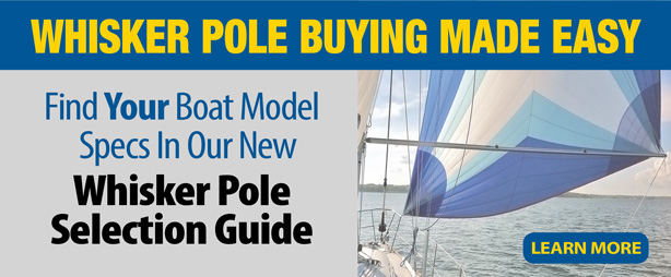 Whisker poles selection guide by boat model