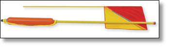 crew overboard stern tube pole