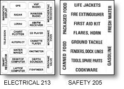identification,gear,labels,weatherproof