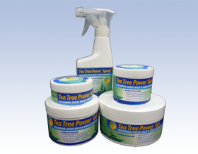 Tea Tree Power family of products